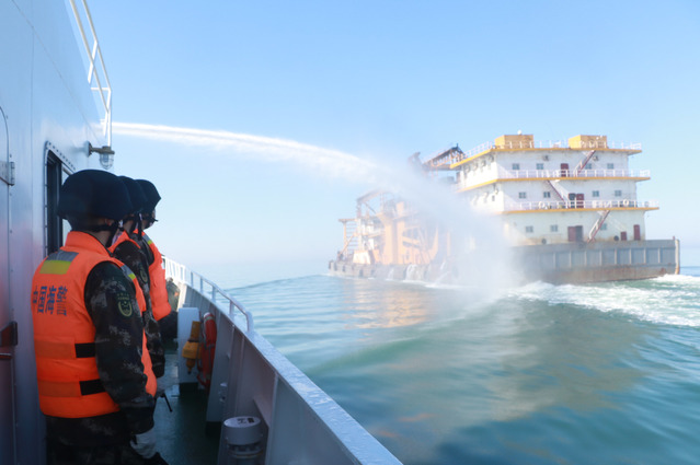 """中国海警局等四部门开展""""碧海2020""""海洋生态环境保护专项执法行动"""