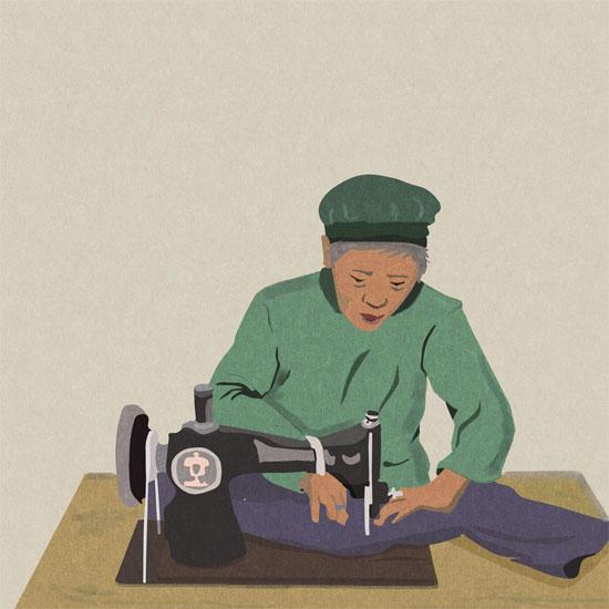 huangsepian恶狠狠_据说即便年近八十了,依然会因为没订好一颗纽扣,或者盘花不精,恶狠狠