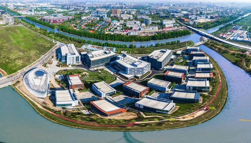 企业环�yk��/(9�!�*_三面环水的人工智能岛上聚集了张江最顶尖的ai企业