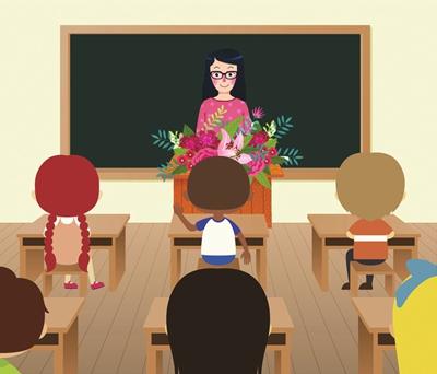 心理课老师让孩子们画画,随便画,给的时间很充足.