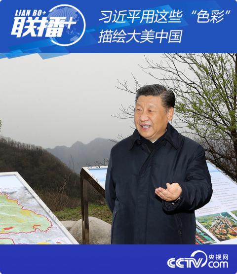 """【中国青年报手机版】_习近平用这些""""色彩""""描绘大美中国"""