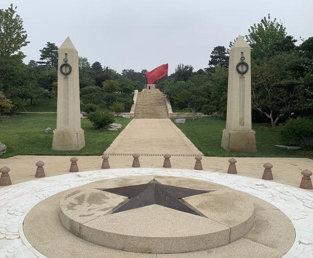 八寶山革命公墓烈士紀念園落成開放