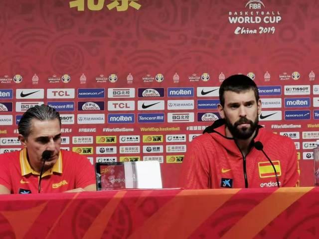 西班牙男篮挺进世界杯决赛主教练斯卡里洛:赢的比赛越多就越会赢