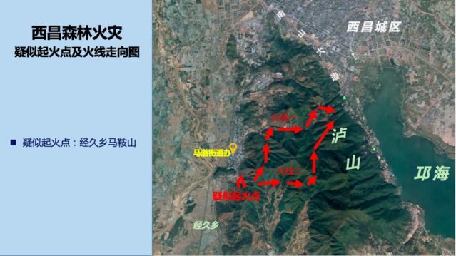 """西昌""""330""""森林火灾事故原因正在调查"""