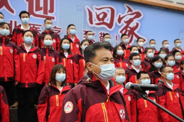 南方病院援荆州洪湖医疗队102人完成隔离回院