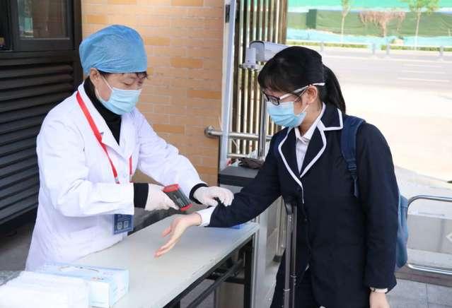 山东:高三年级学生开学首日有序返校