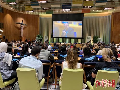 全球聆听青年之声,中国分享应对气候变化经验