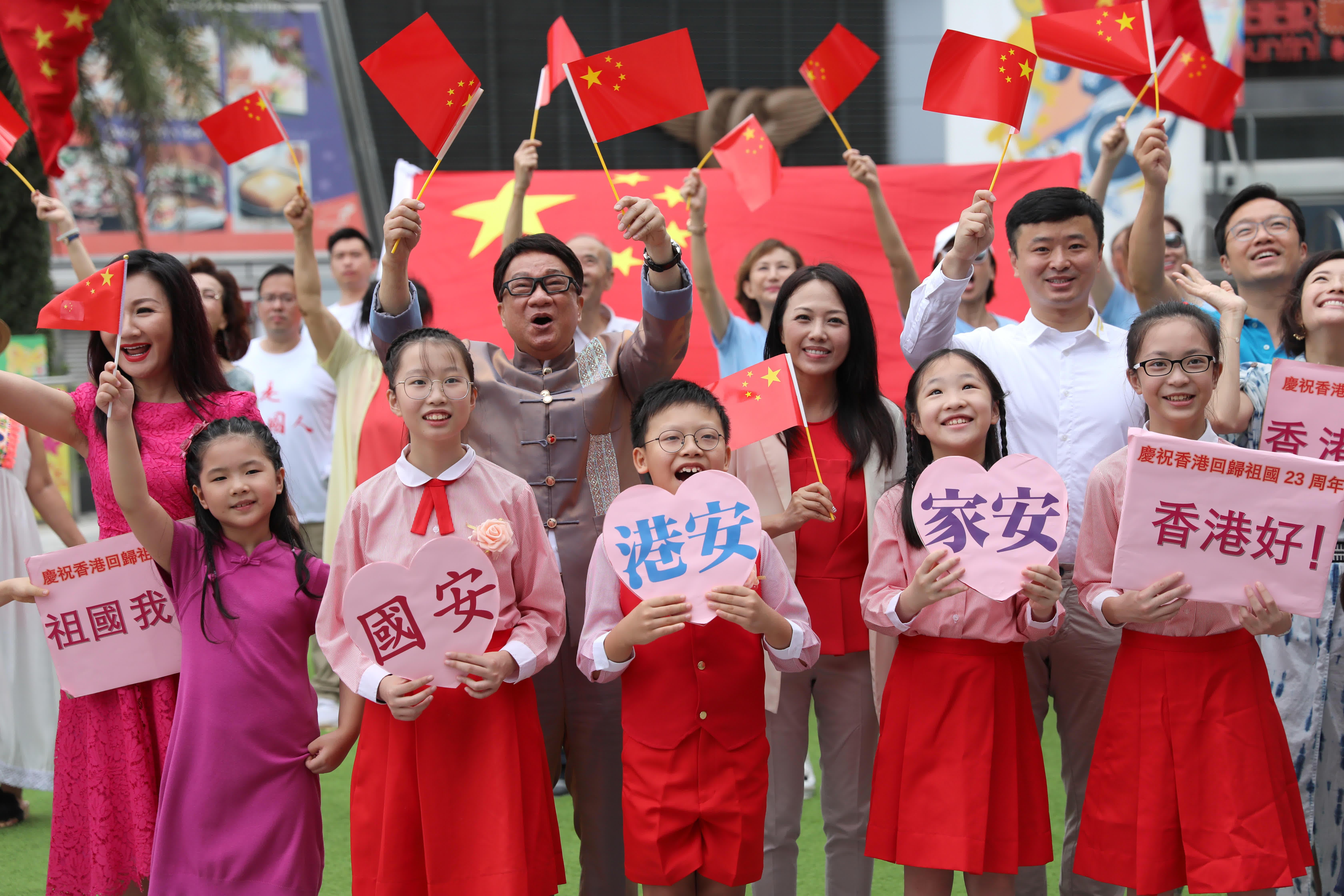 外国媒体:在香港部分人士反中的问题上,西方国家是不